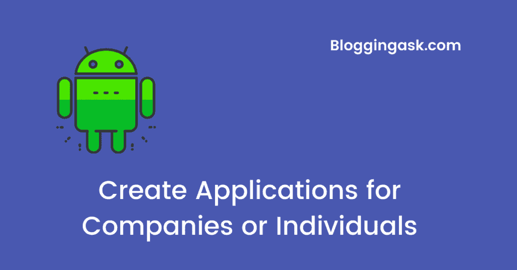 Create Applications