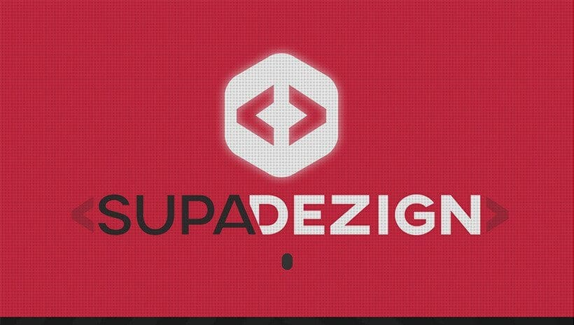 supa dezign website