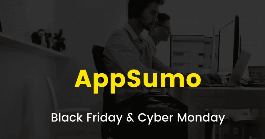 Appsumo black friday sale