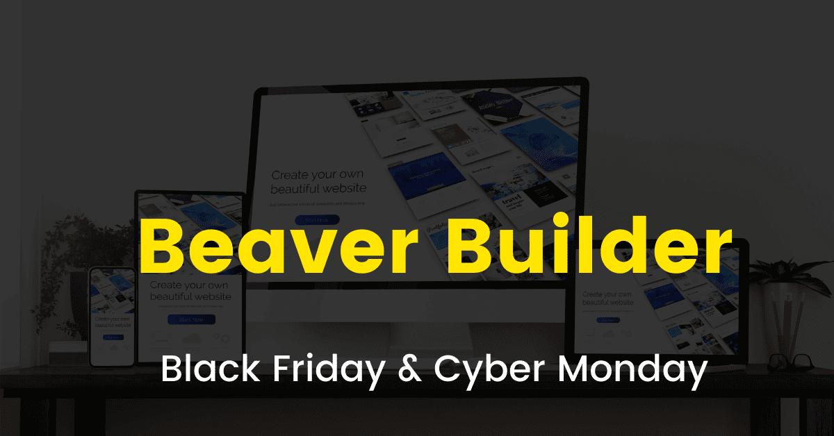 Beaver Builder black friday sale