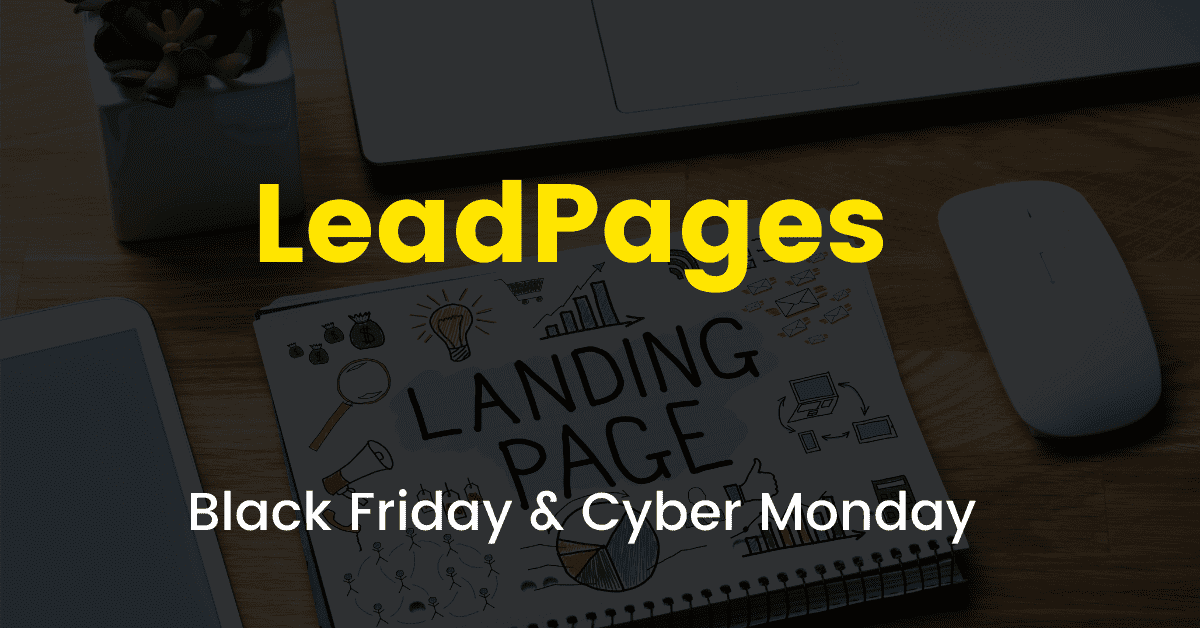 Leadpages black friday sale