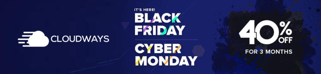 cloudways black friday sale 2020